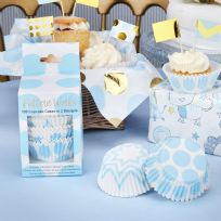Pattern Works Blue Cupcake Cases (100)